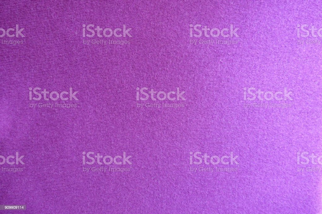 Top view of deep pink knitted fabric stock photo