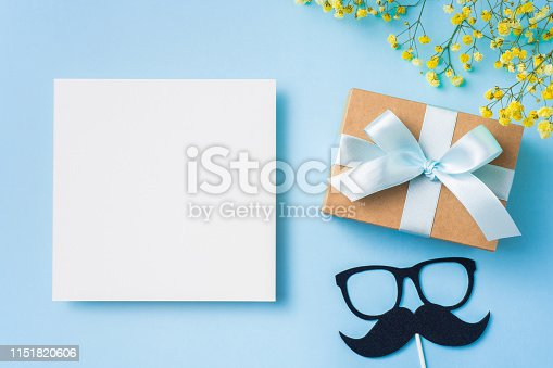 istock top view of fathers day concept with copy space 1151820606