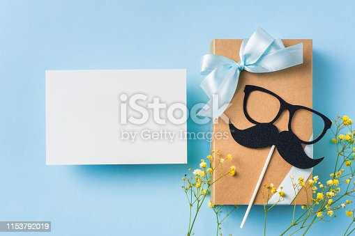 istock top view of fathers day concept with copy space 1153792019