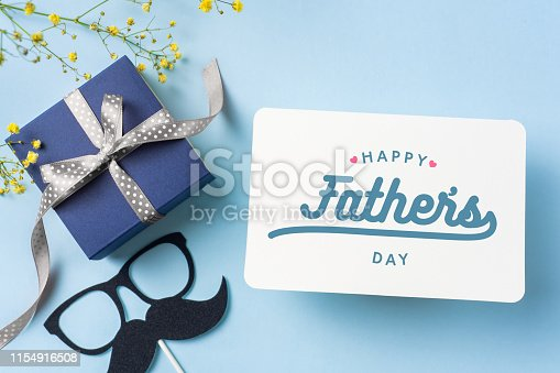 istock top view of fathers day concept with copy space 1154916508