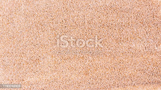 istock Top view of fine sand texture background. 1193240303