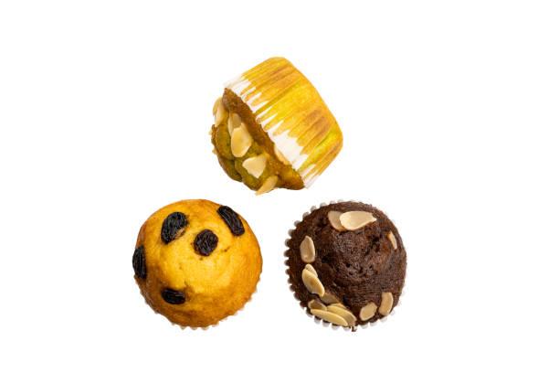 Top-Ansicht von hausgemachten Muffins – Foto