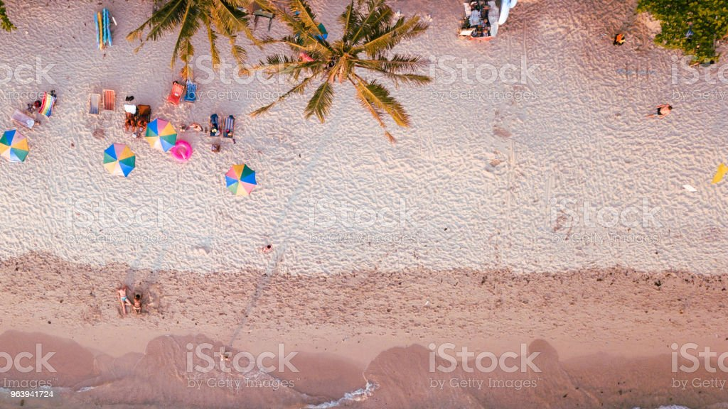 Top View of Koh Chang Beach. - Royalty-free Above Stock Photo