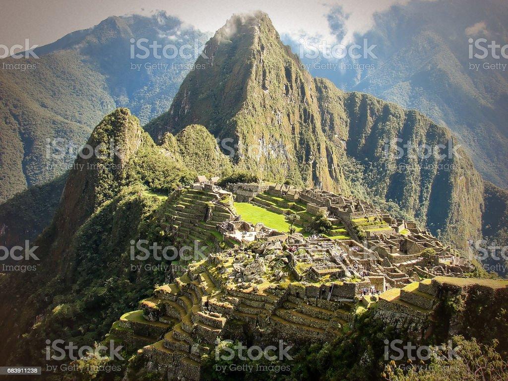 失われた都市マチュピチュはインカ帝国の一部だったの平面図です ...