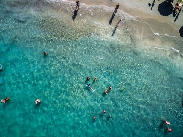 Mejores vistas de la playa Porto de Galinhas, Pernambuco, Brasil - foto de stock