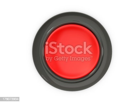 istock Top View of Red Button 179073934