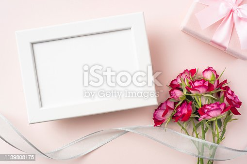 825251738istockphoto top view of red rose for mother & valentine day 1139808175