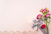 istock top view of red rose for mother & valentine day 1140030656