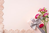 istock top view of red rose for mother & valentine day 1140030659