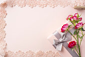 istock top view of red rose for mother & valentine day 1140030663