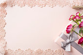 istock top view of red rose for mother & valentine day 1140031166