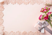 istock top view of red rose for mother & valentine day 1140031168