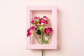 istock top view of red rose for mother & valentine day 1142537958