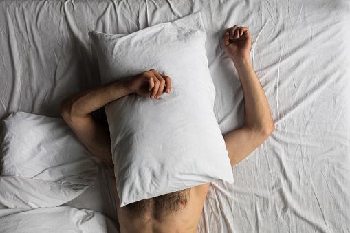 Topless Naked Men Sleeping Free Pics