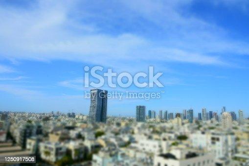 Top view of Tel Aviv