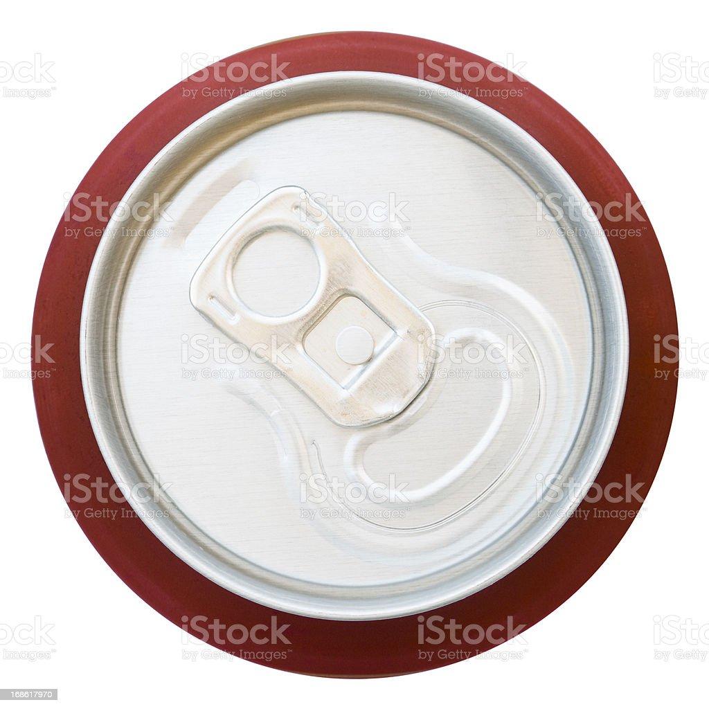 Blick von versiegelte aluminium Getränke können – Foto