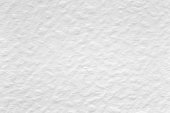 istock Top view of white watercolor paper texture background. 1150044806