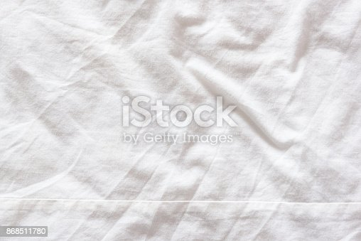 white bed sheets texture. Wonderful Bed Top View Of Wrinkles On An Untidy White Bed Sheet In A Bedroom Stock Photo  U0026 More Pictures Of Abstract  IStock Intended Sheets Texture