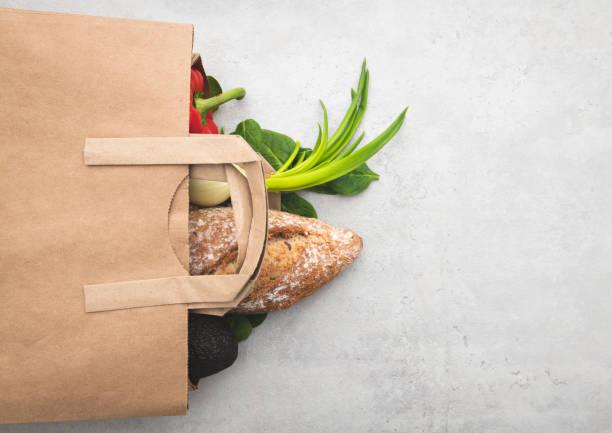 Top view paper bag of different fresh health food picture id1125360667?b=1&k=6&m=1125360667&s=612x612&w=0&h=55pmwvsfbxog elcbl bo4vwgt4pab9k nyhvc54hri=