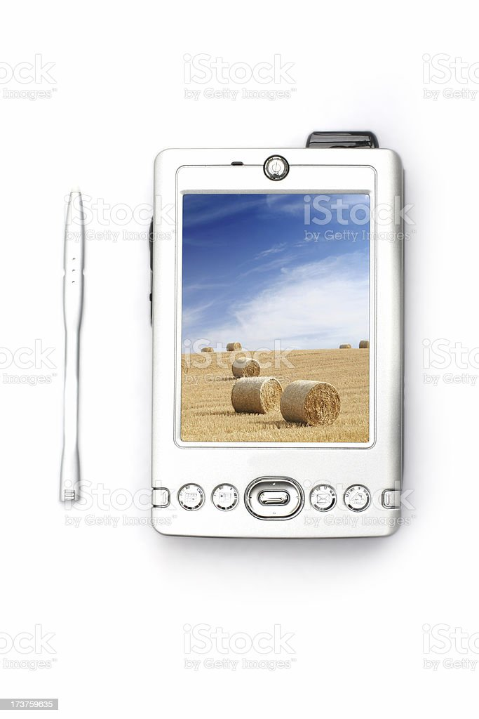 PDA - top view royalty-free stock photo