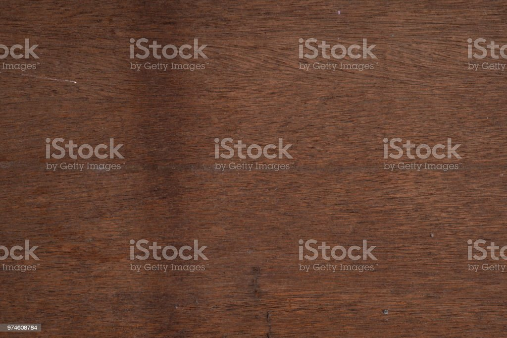 Top viwe of old wood texture, Natural dark brown wooden for backgroud stock photo
