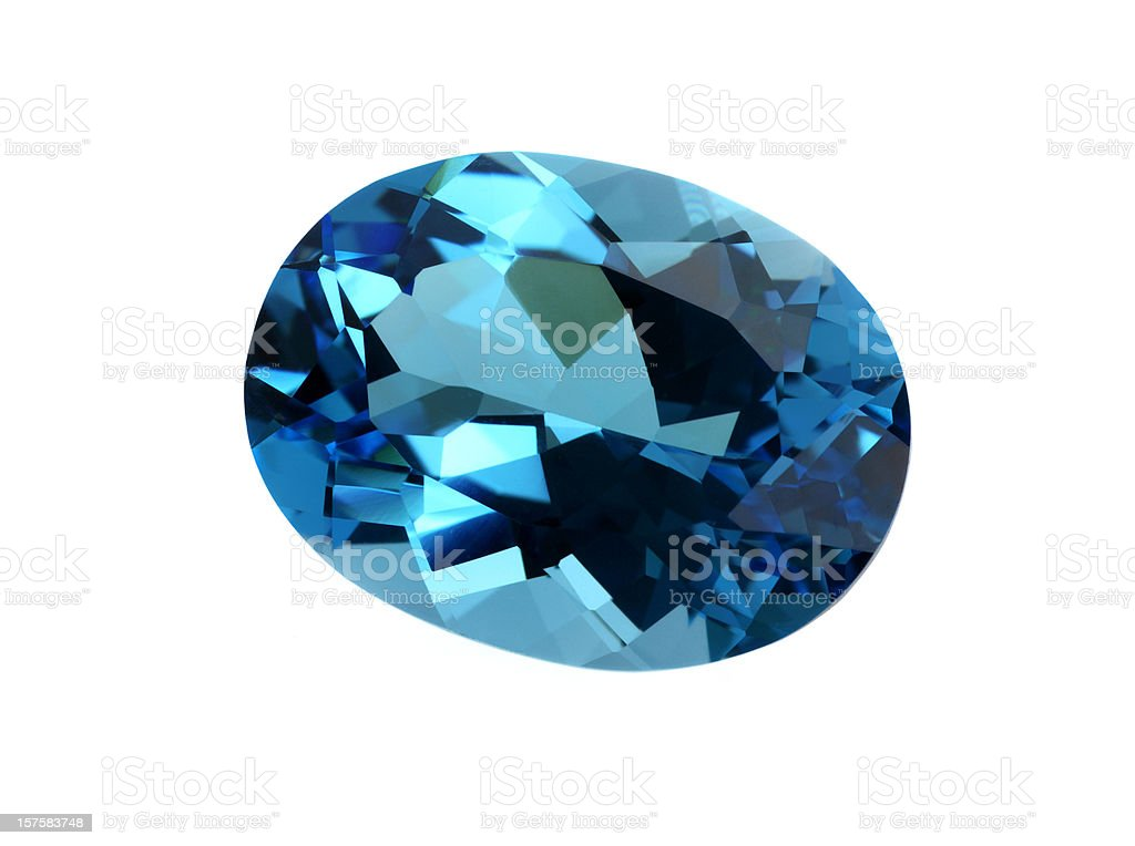 Topaz Gemstone stock photo