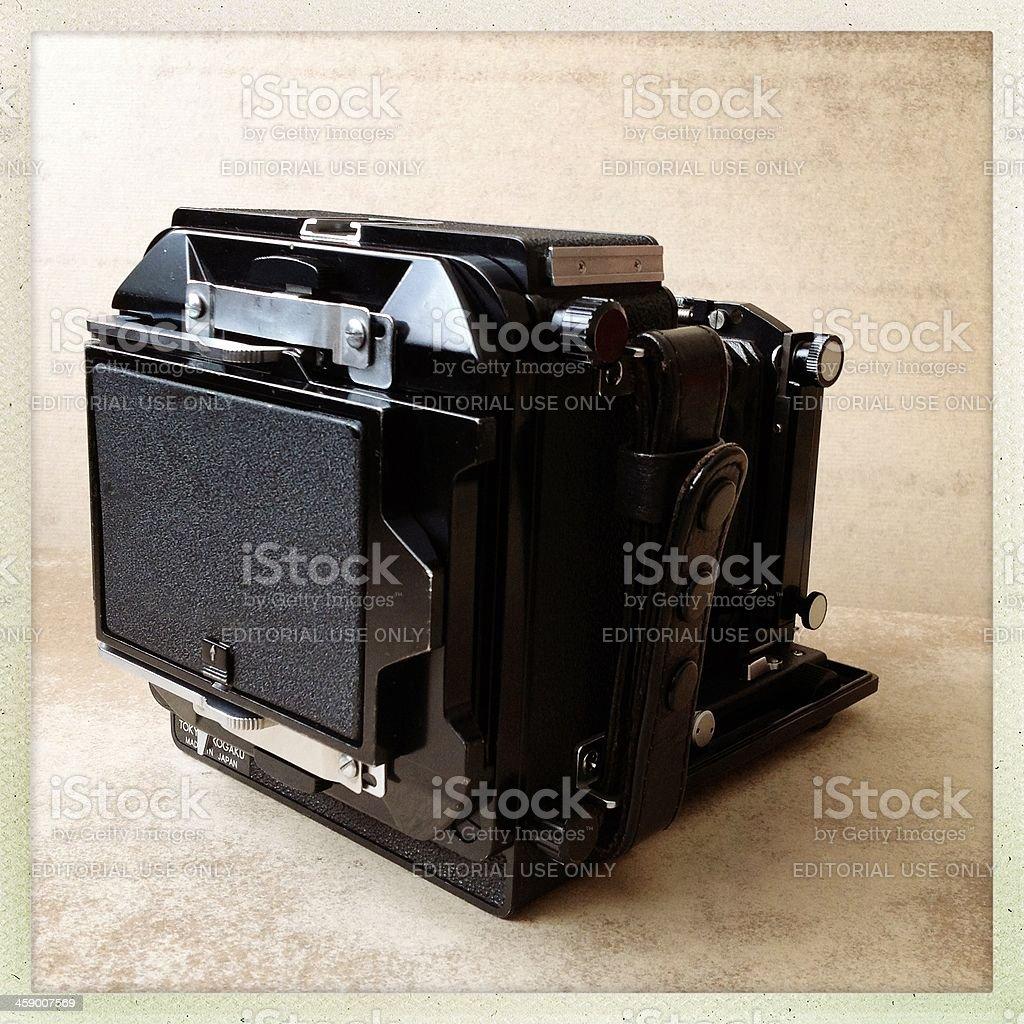 Topcon Horseman vh large format camera stock photo