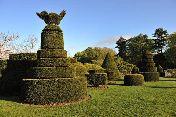 Topiary Garden stock photo