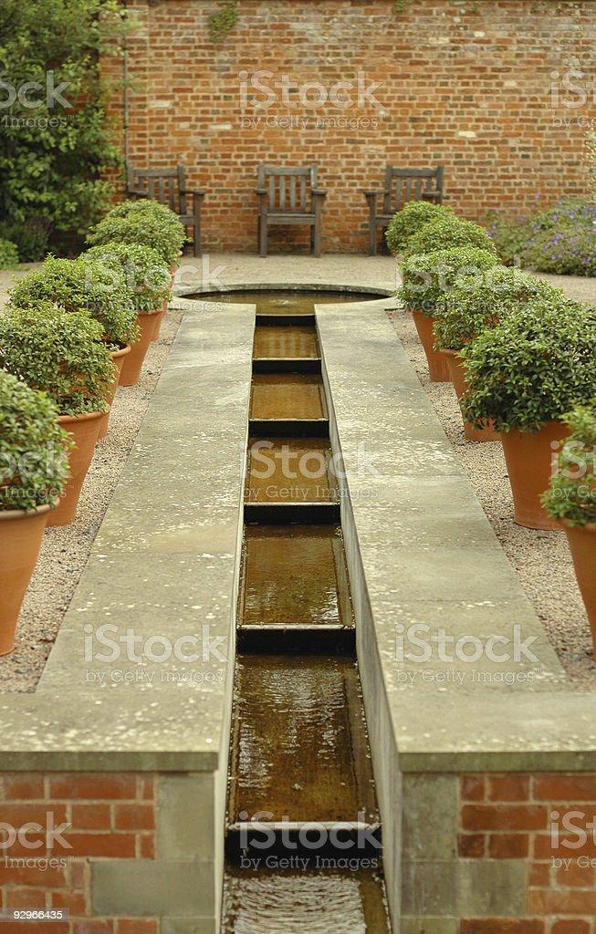 Topiary Rill royalty-free stock photo