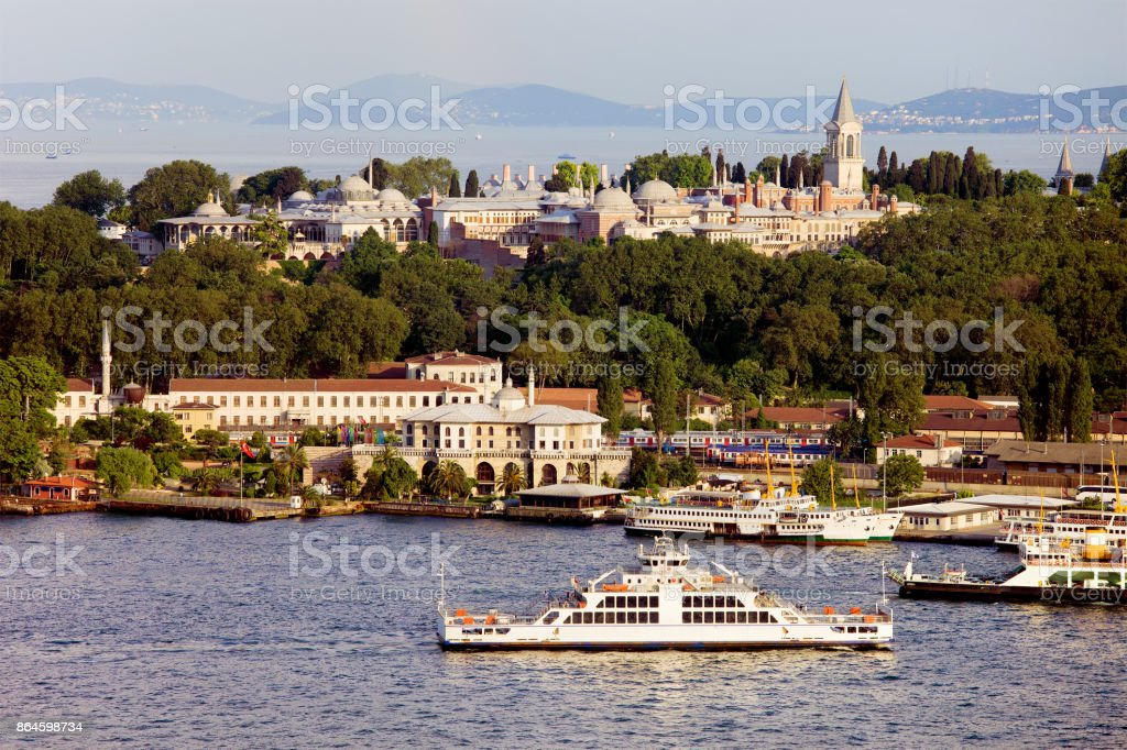 Topkapi Palace in Istanbul stock photo