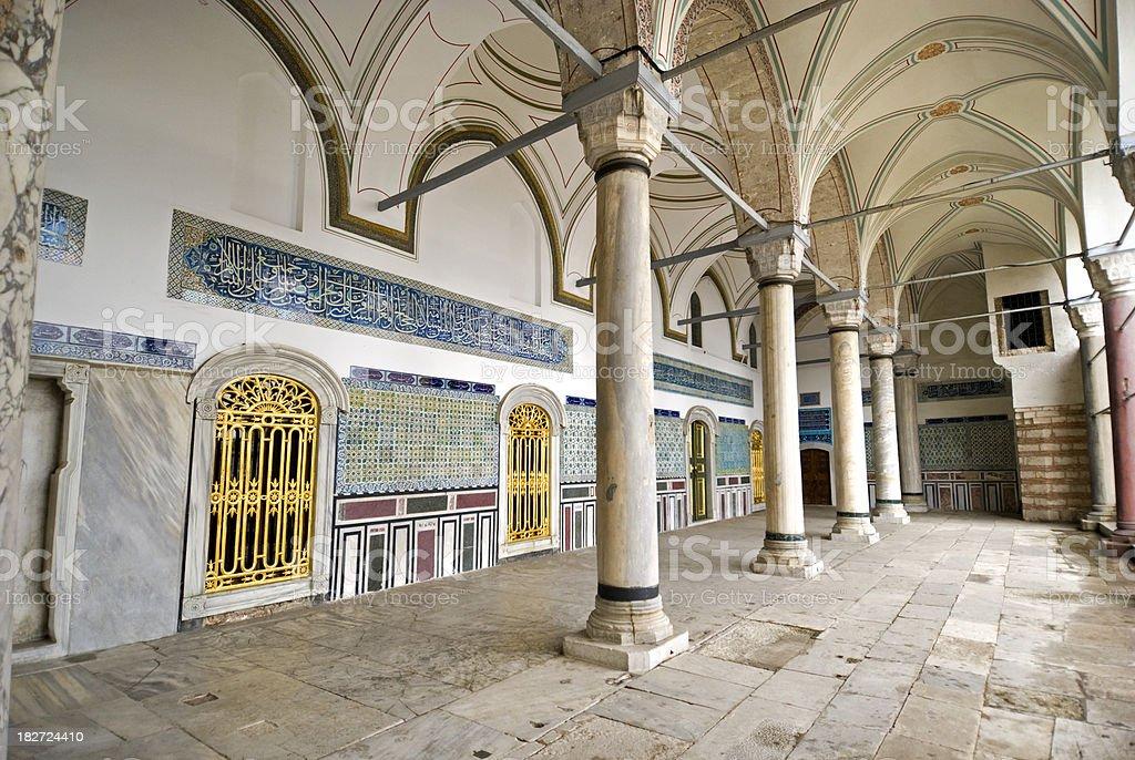Topkapi Palace royalty-free stock photo