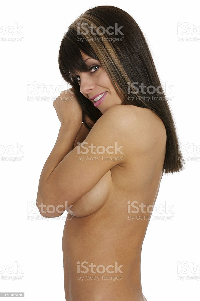 Topless Beauty royalty-free stock photo