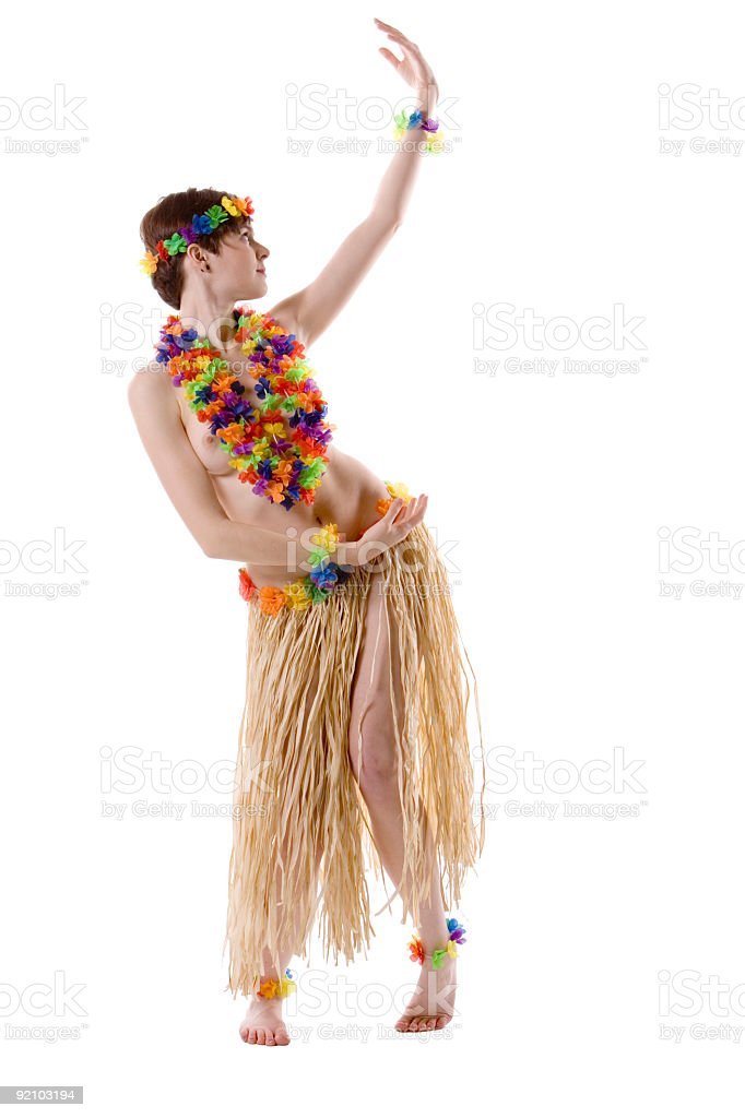 naked hula girl