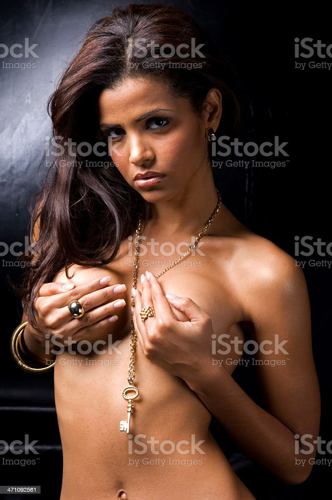 topless! royalty-free stock photo