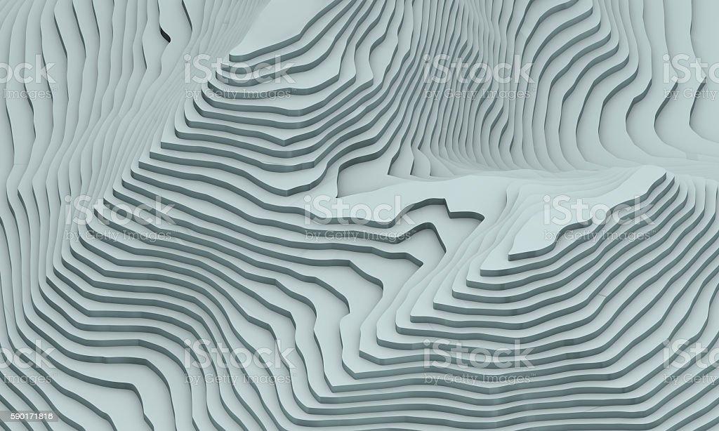 topographic stock photo