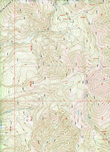 topographical map (extra large) - topography stock photos and pictures