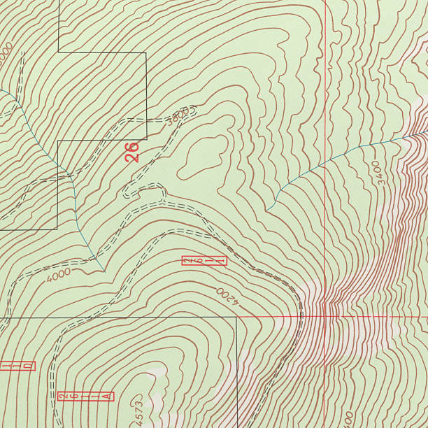topographical map - topography stock photos and pictures