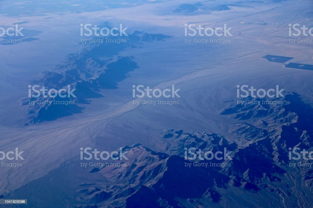 Topography stock photo