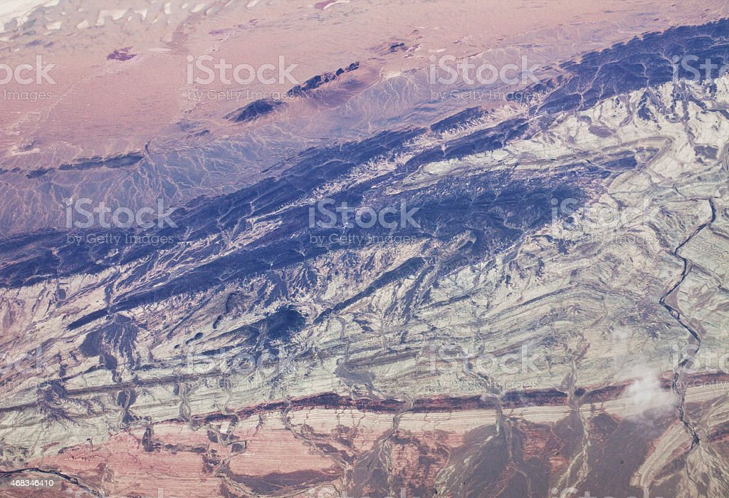 Topography royalty-free stock photo