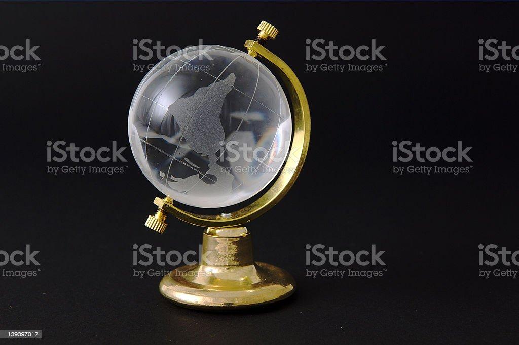 Topsy Turvy World stock photo