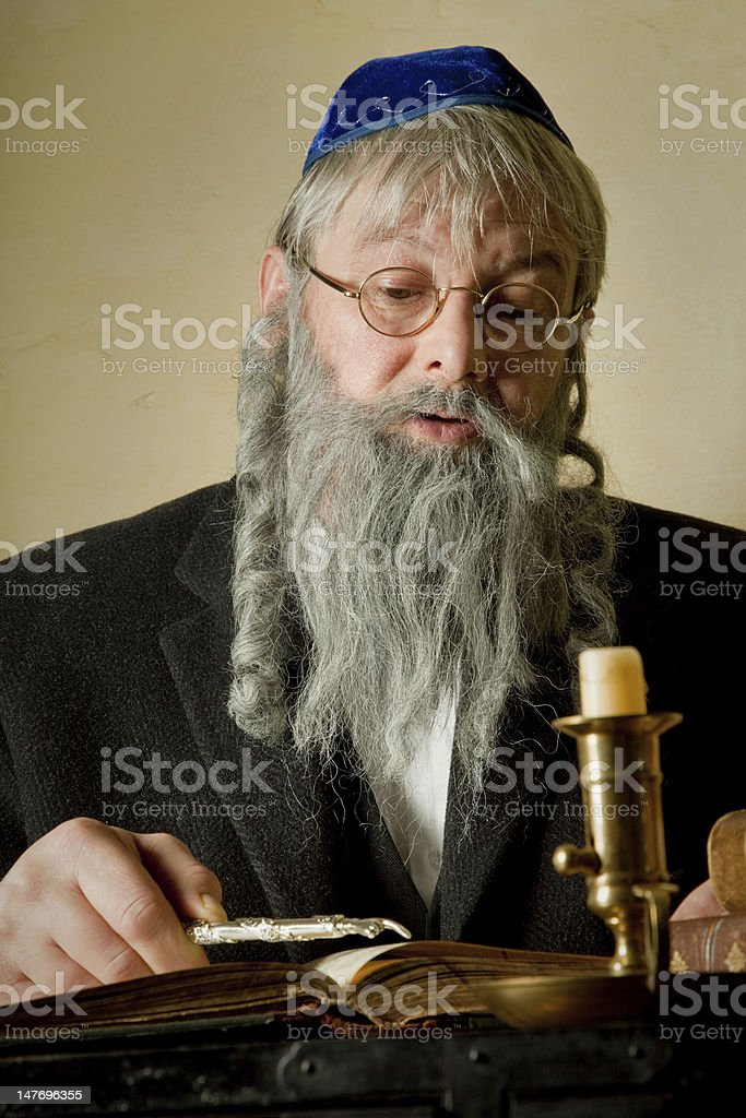 Torah pointer stock photo