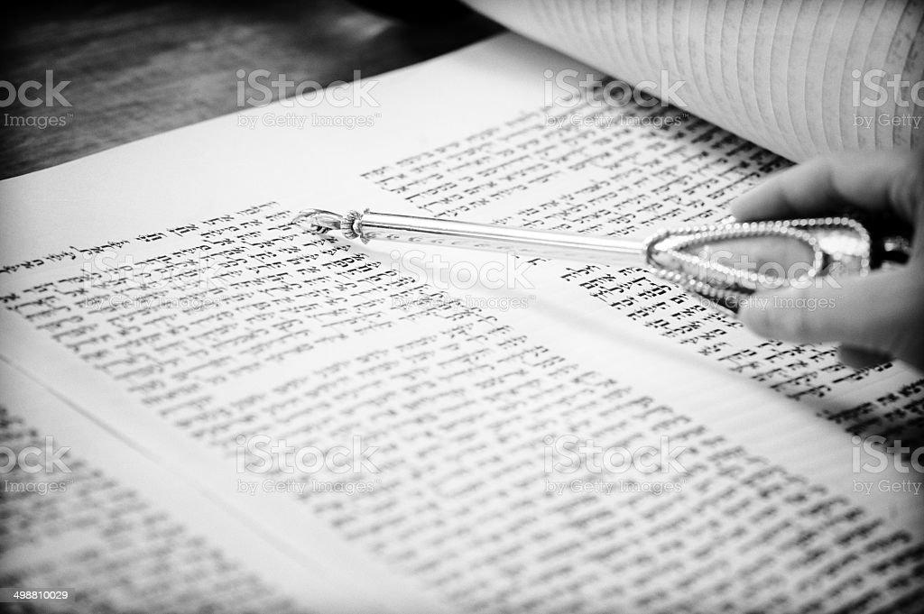 Torah reading royalty-free stock photo