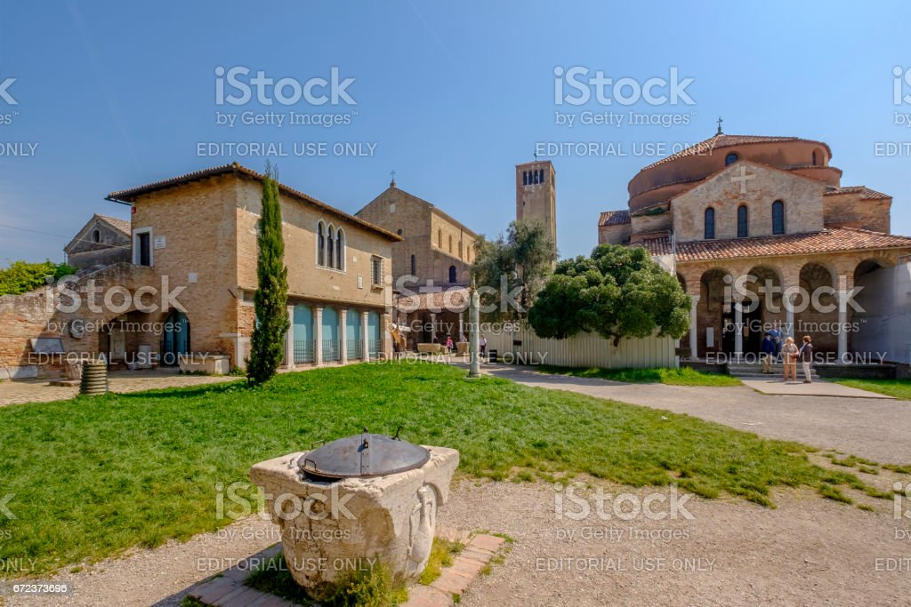 Torcello Archeological Heritage, Venice - Italy stock photo