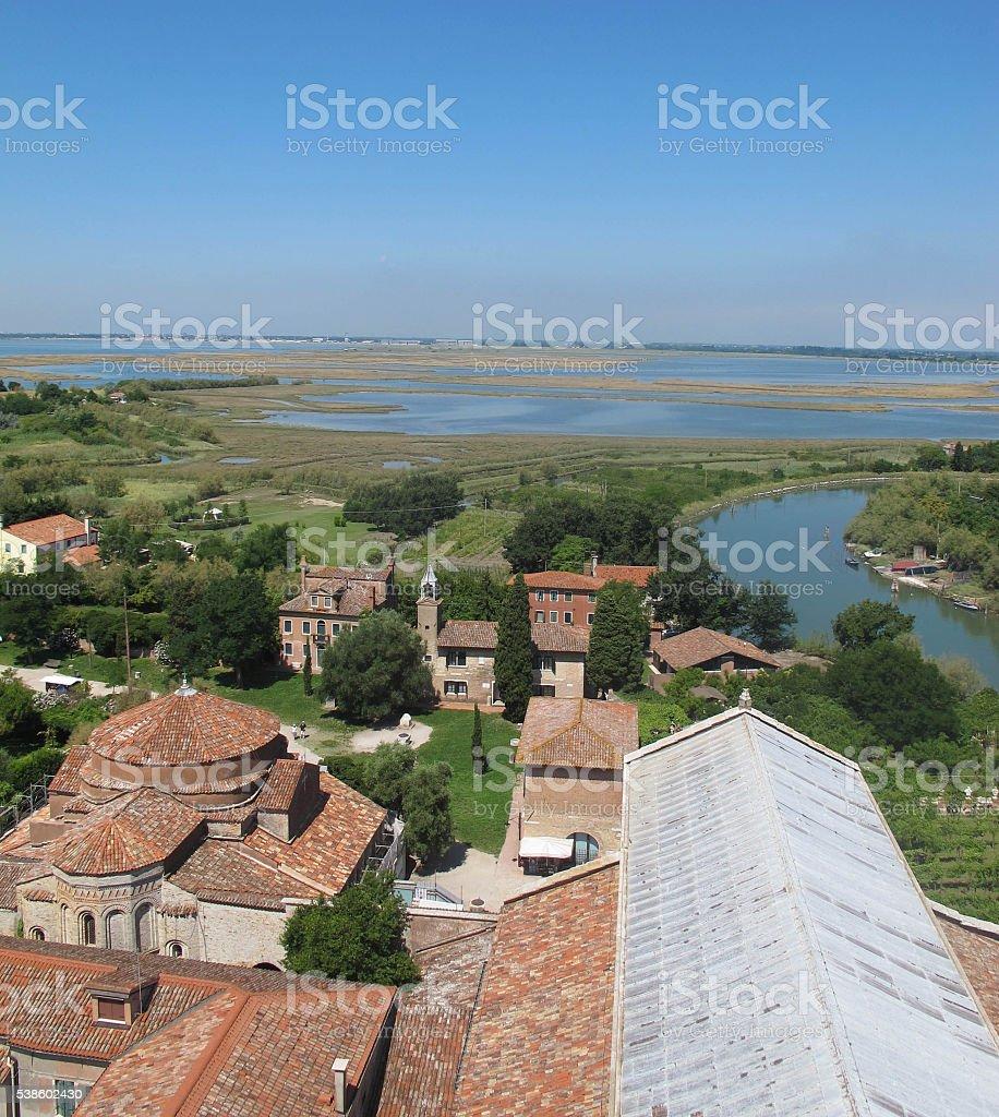 Torcello stock photo