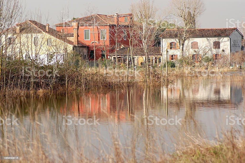 Torcello,Venice,Italy stock photo