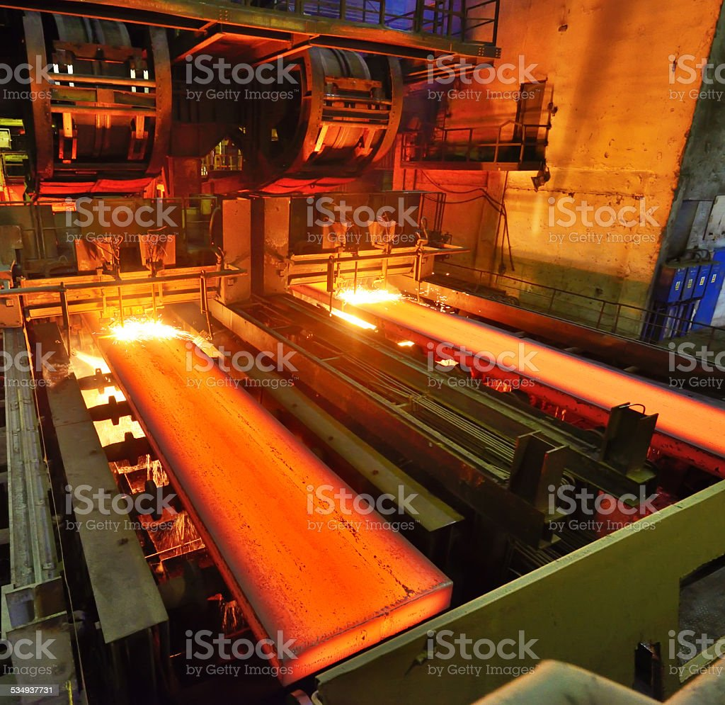 Torch Cutting stock photo