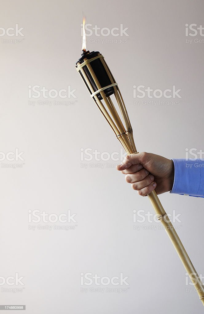 Torch royalty-free stock photo