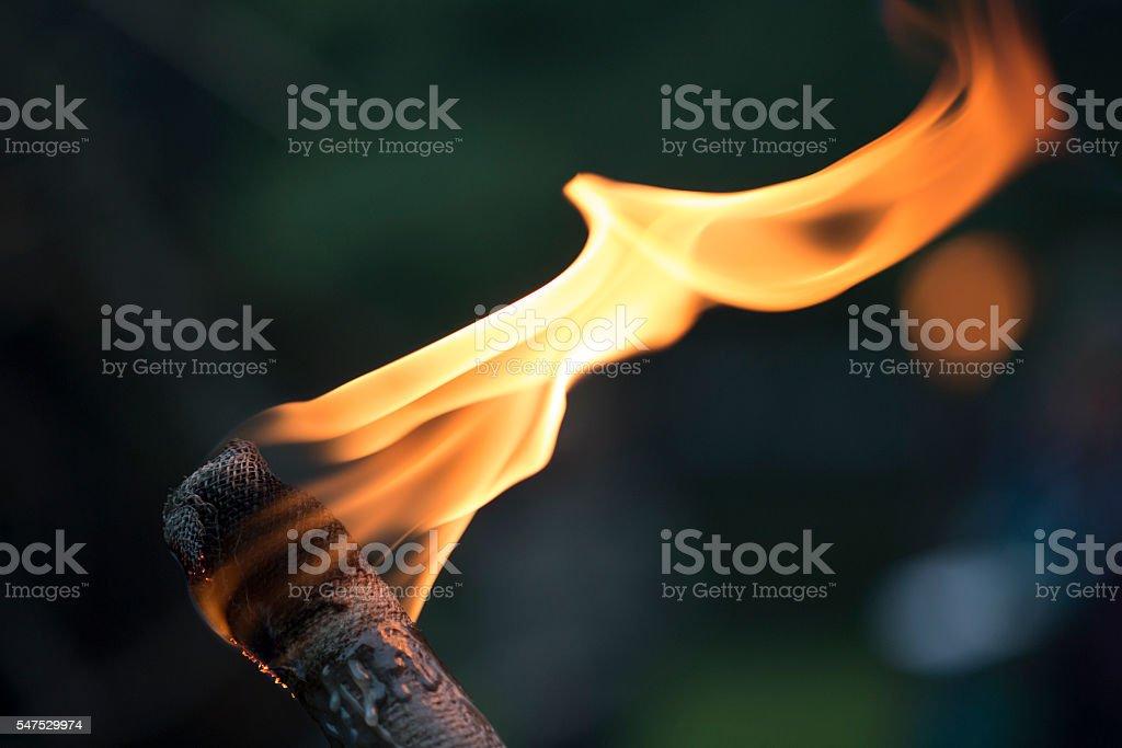 Torch stock photo