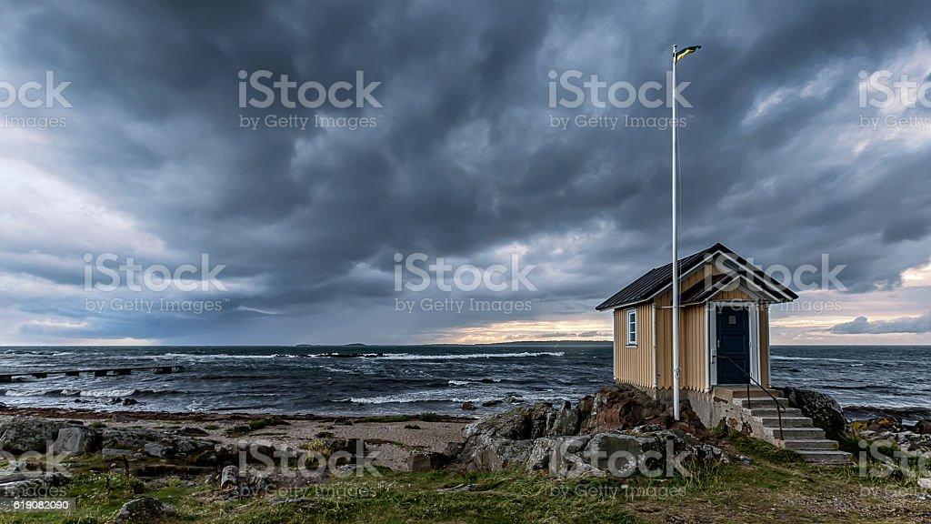 Torekov Skåne stock photo