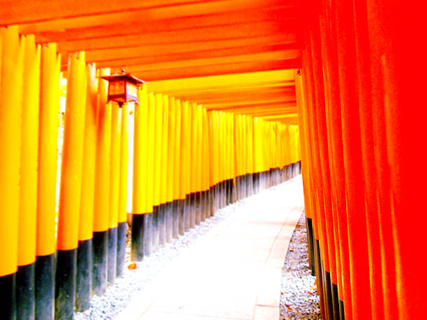 Torii 鳥居 torii gate stock pictures, royalty-free photos & images